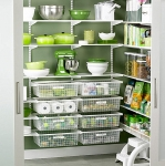 Walk-in-pantry-organizational-system